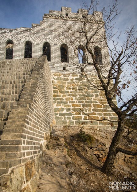 Nine-Eye Tower on the Great Wall of China
