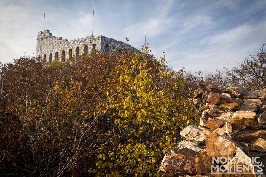 The restored Nine-Eye Tower