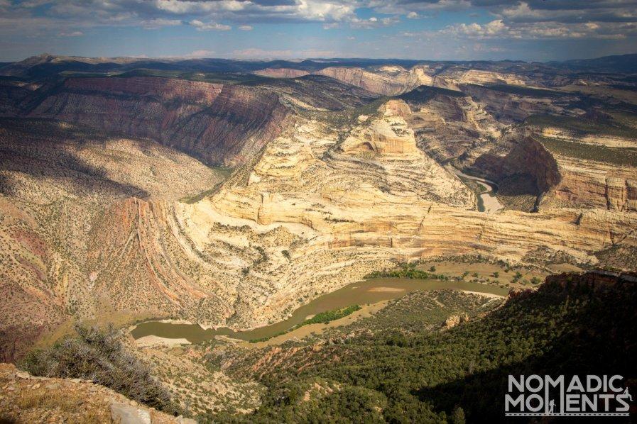 Harpers Corner Overlook -Best of Dinosaur National Monument