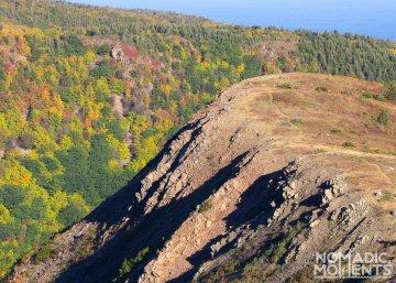 Ridge-line of Meat Cove Mountain