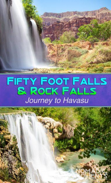 Fifty Foot Falls & Rock Falls