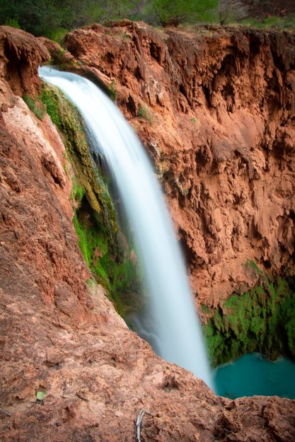 Mooney Falls and the Cliffs