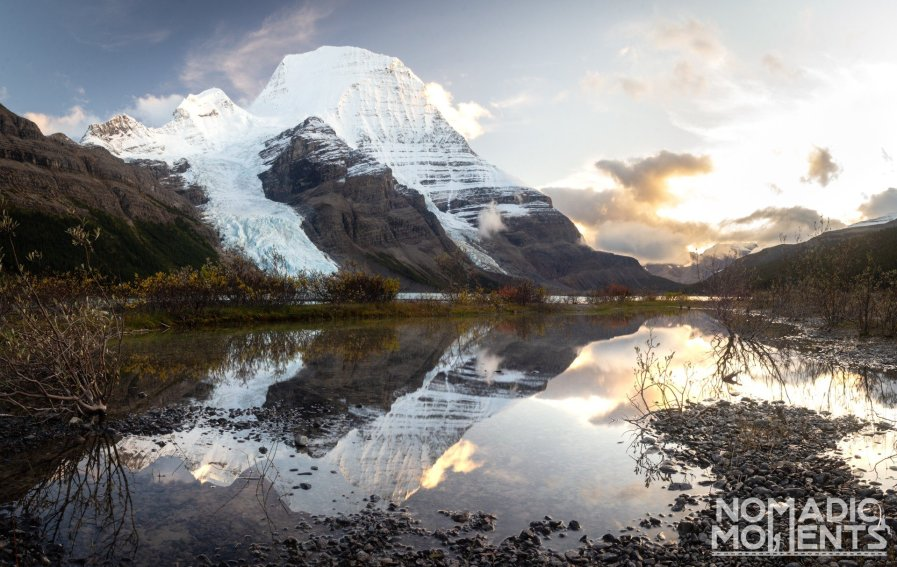 Reflections of Berg Lake