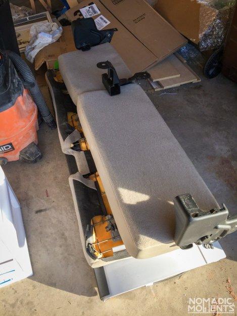 Backseat SuperCab Renovation