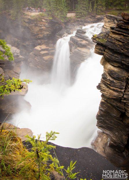 Athabasca Falls Flow