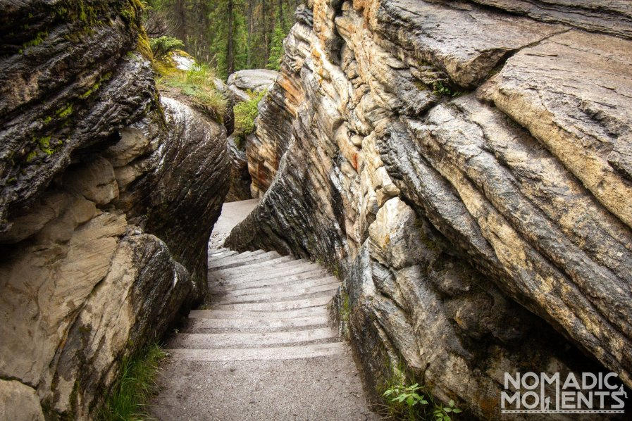 Athabasca Falls Trail