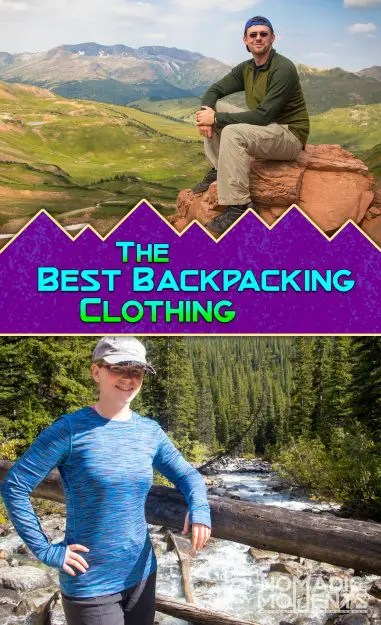 Best Backpacking Clothing
