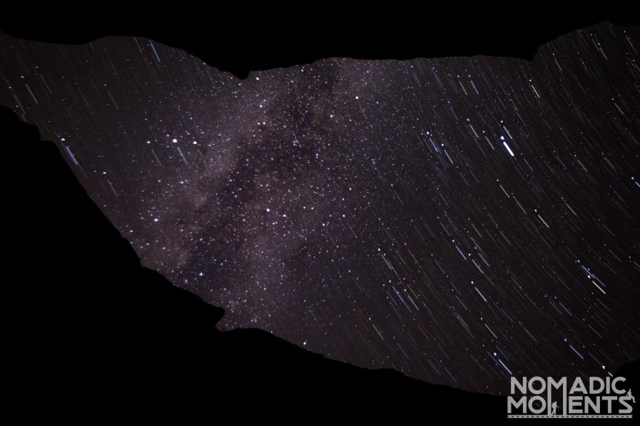 Milky Way above Buckskin Gulch