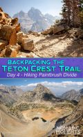 Hiking Paintbrush Divide - TCT Day 4