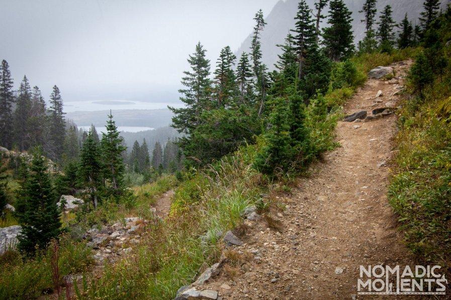 Paintbrush Canyon Trail - The Teton Crest Trail