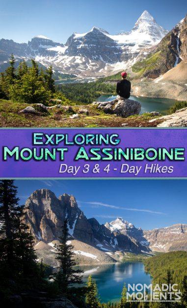 Exploring Mount Assiniboine - Day 3 & 4