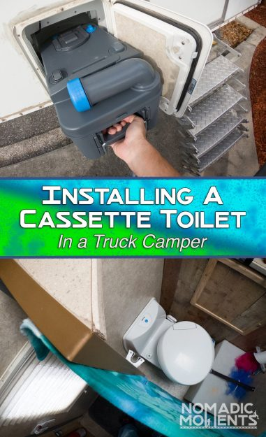 Installing a Cassette Toilet