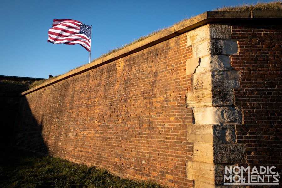Star-Spangled Banner over Fort McHenry