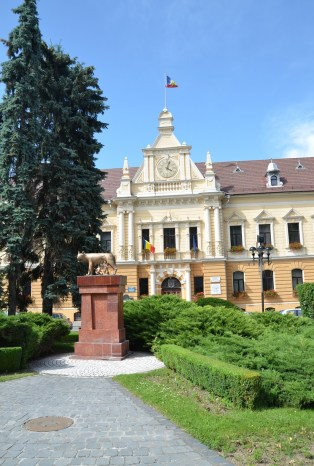 City Hall in Braşov, Romania