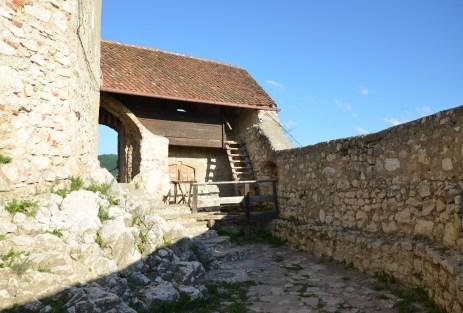 Citadel in Râșnov, Romania