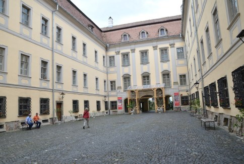 Brukenthal Palace in Sibiu, Romania