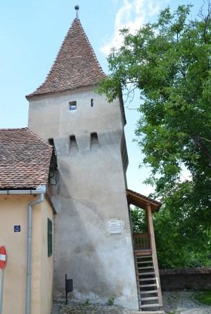 Furrier's Tower in Sighişoara, Romania