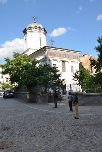 Biserica Sfântul Dumitru in Bucharest, Romania