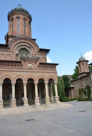 Antim Monastery in Bucharest, Romania