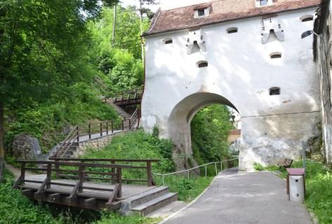Graft Bastion in Braşov, Romania