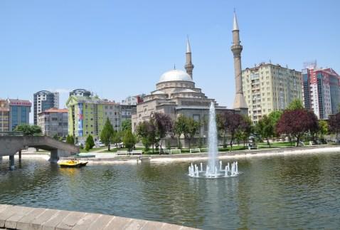 Mimar Sinan Parkı in Kayseri, Turkey