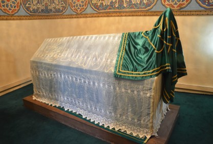 Huzur-u Pir (tomb of Hacı Bektaş) at the Hacıbektaş Külliyesi in Hacıbektaş, Turkey