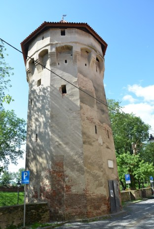 Harquebusier's Tower in Sibiu, Romania