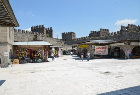 Kayseri Kalesi in Kayseri, Turkey