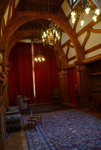 Queen Marie's painting room at Peleș Castle in Sinaia, Romania