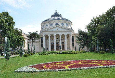 Ateneul Român in Bucharest, Romania