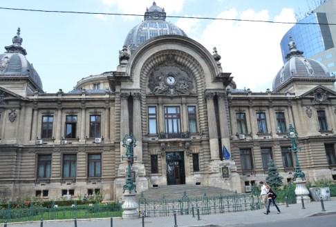 Economic Consortium Palace in Bucharest, Romania