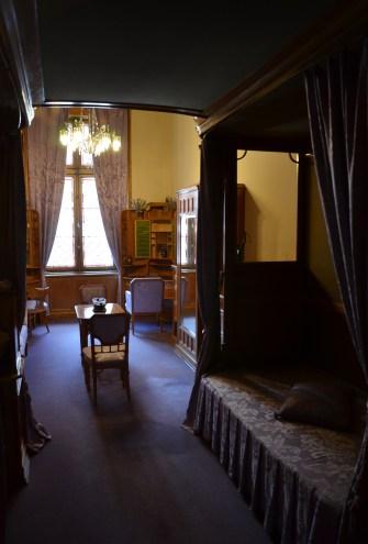 Ladies in waiting quarters at Peleș Castle in Sinaia, Romania