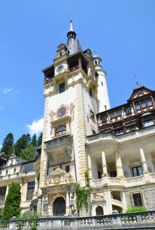 Peleș Castle in Sinaia, Romania