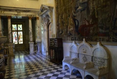 Italian room at Peleș Castle in Sinaia, Romania