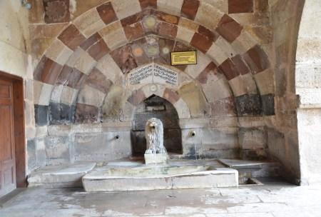 Fountain at the Hacıbektaş Külliyesi in Hacıbektaş, Turkey