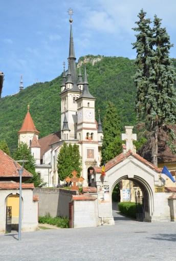 St. Nicholas Orthodox Cathedral in Braşov, Romania