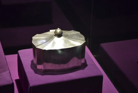 Queen Marie's heart at the National History Museum in Bucharest, Romania