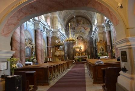 Holy Trinity Catholic Church in Sibiu, Romania