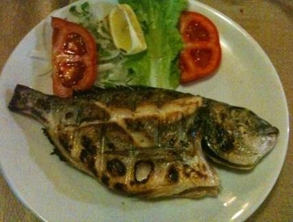 Çupra dinner in Sinop, Turkey