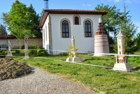Clock tower display in Safranbolu, Turkey