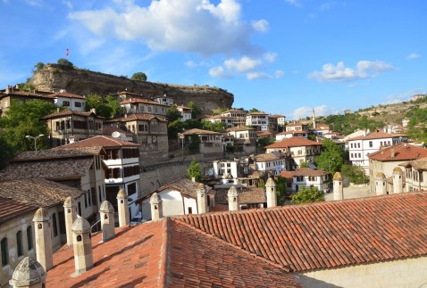 View from Cinci Hanı in Safranbolu, Turkey