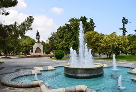 Atatürk Parkı in Samsun, Turkey