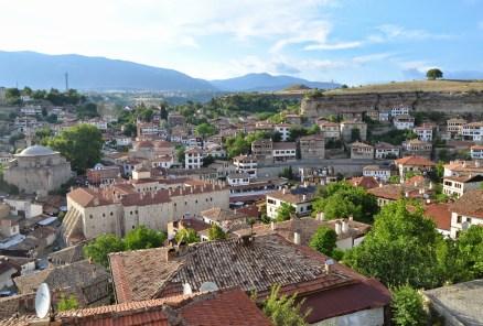 View from Hıdırlık Tepesi in Safranbolu, Turkey