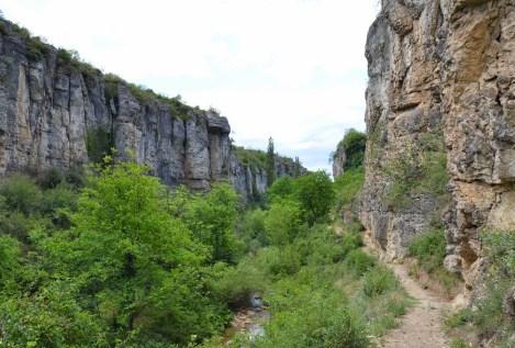 Tokatlı Kanyonu in Turkey
