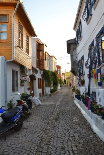 Turkish Quarter in Bozcaada, Turkey