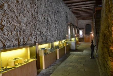 Deniz Müzesi at Çimenlik Kalesi in Çanakkale, Turkey