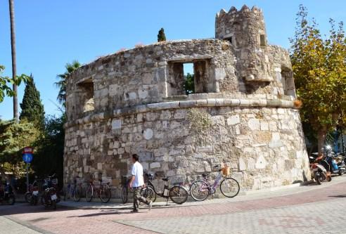 Medieval tower in Kos, Greece
