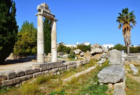 Agora in Kos, Greece