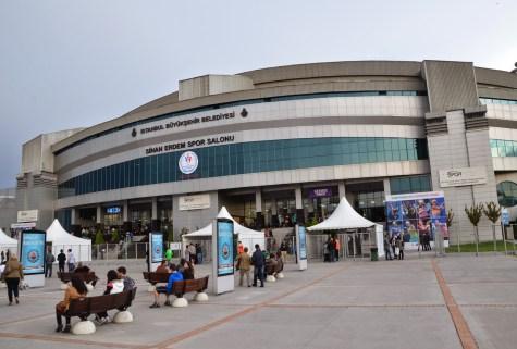 Sinan Erdem Spor Salonu in Bakırköy, Istanbul, Turkey