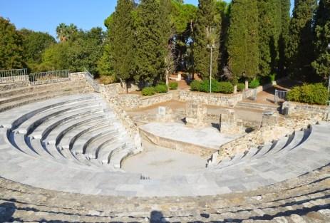 Roman Odeon in Kos, Greece